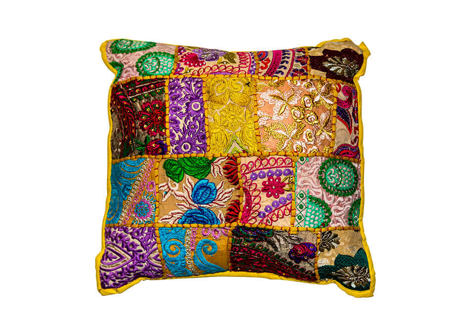 Patchwork Colorful Pillow
