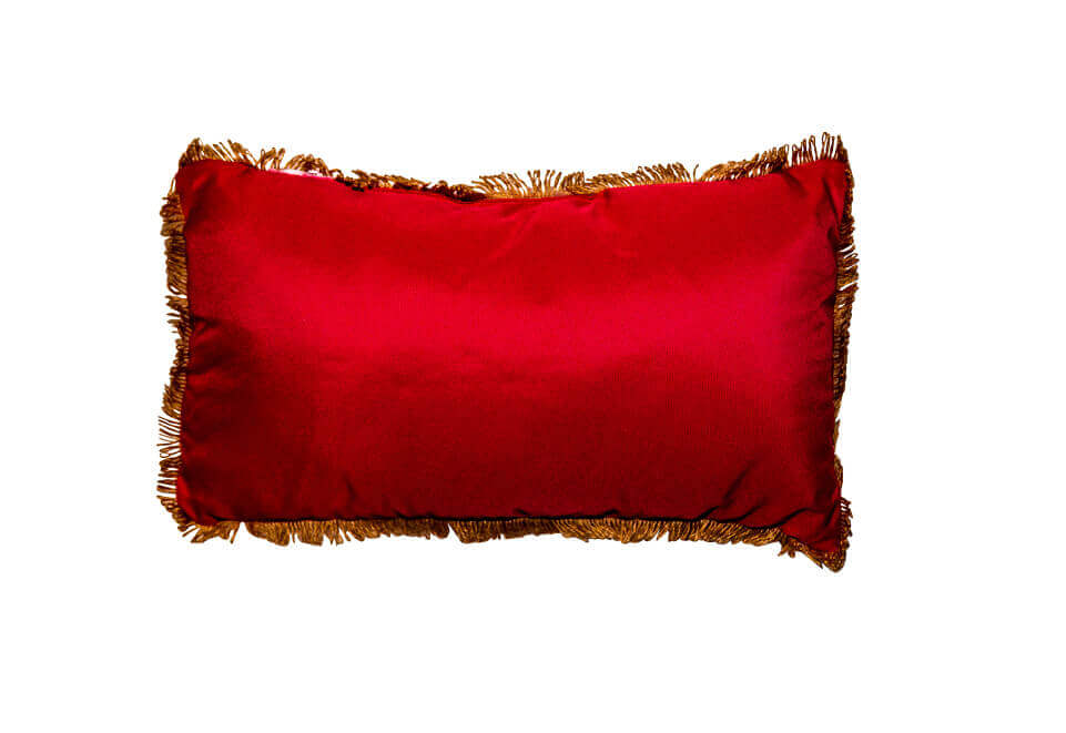 Red Twine Pillow