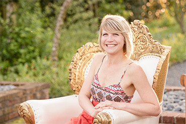 photo of kirsten miller owner of cultural event rentals