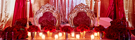 decor used in indian ceremonies and weddings